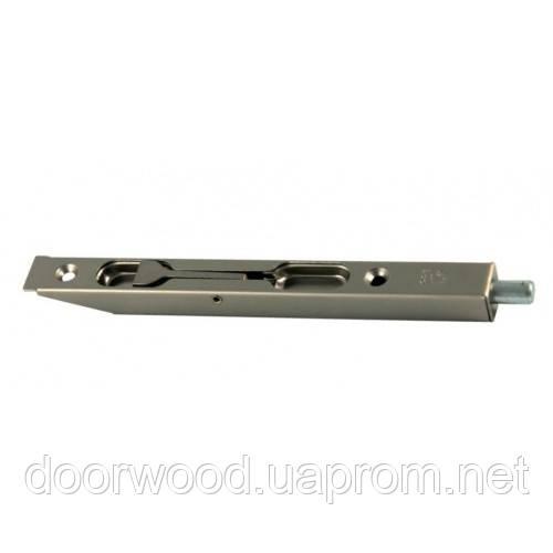 Шпингалет 160 мм (никель перламутровый)