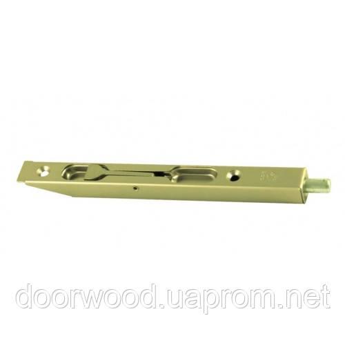 Шпингалет 160 мм (латунь матовая)