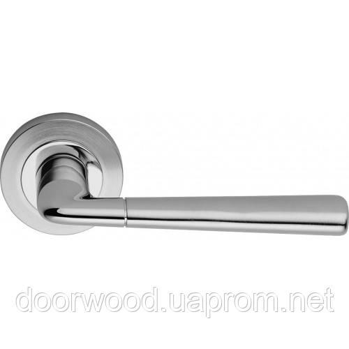 Tess ручка дверная (хром матовый/хром)