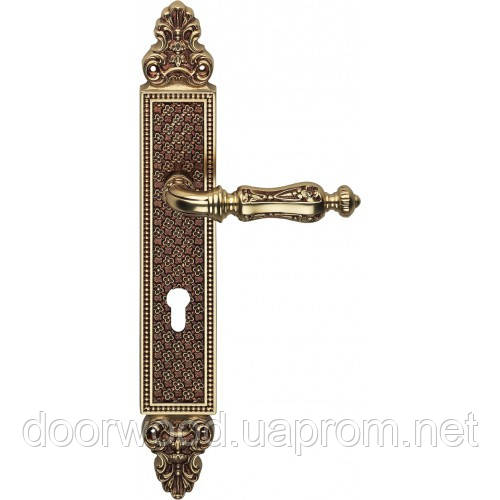 Soleil ручка на планке (французское золото)