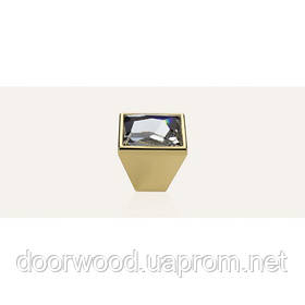 Pop-Art ручка-кнопка мебельная (золото)