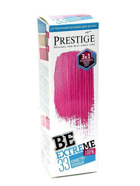 Оттеночный бальзам для волос конфетно-розовый, 100 мл, Vip's Prestige Be Extreme