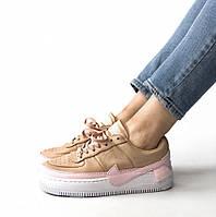 889c1e35 Женские Кроссовки Nike Air Force 1 Jester XX Bio Beige/Pink — в ...