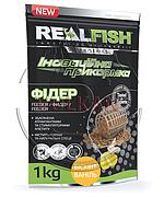 "Прикормка Real Fish ""Фидер"" Бисквит-ваниль"