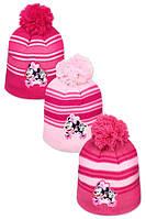 Шапки для девочек оптом, DISNEY, 52-54 см,  № MIN-A-HAT-168, фото 1
