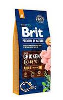 Brit (Брит) Premium Adult M для взрослых собак средних пород 15 кг