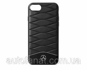 Оригинальный кожаный чехол для iPhone® 7/8 Mercedes Cover for iPhone® 7/8, Black (B66958618)