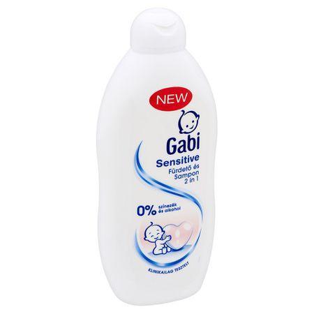 Гиппоаллергенный гель для душа от рождения Gaby 400ml Hungary