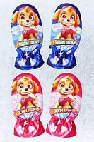 Варежки болоневые для девочек оптом, Disney,  № 800-547, фото 1