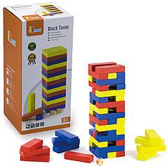 Веселая игра дженга Viga Toys Башня (56215)