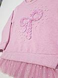 Детская трикотажная кофта на девочку 4, 5, 6, 7, 8 лет , фото 3