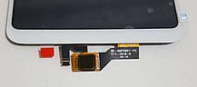 Модуль (сенсор + дисплей) для Xiaomi MI Max 3 белый, фото 3