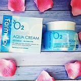 Кислородный крем для лица Farm Stay O2 Premium Aqua Cream, 100 мл, фото 3