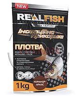 """Прикормка Real Fish """"Плотва"""" Кориандр-арахис"""