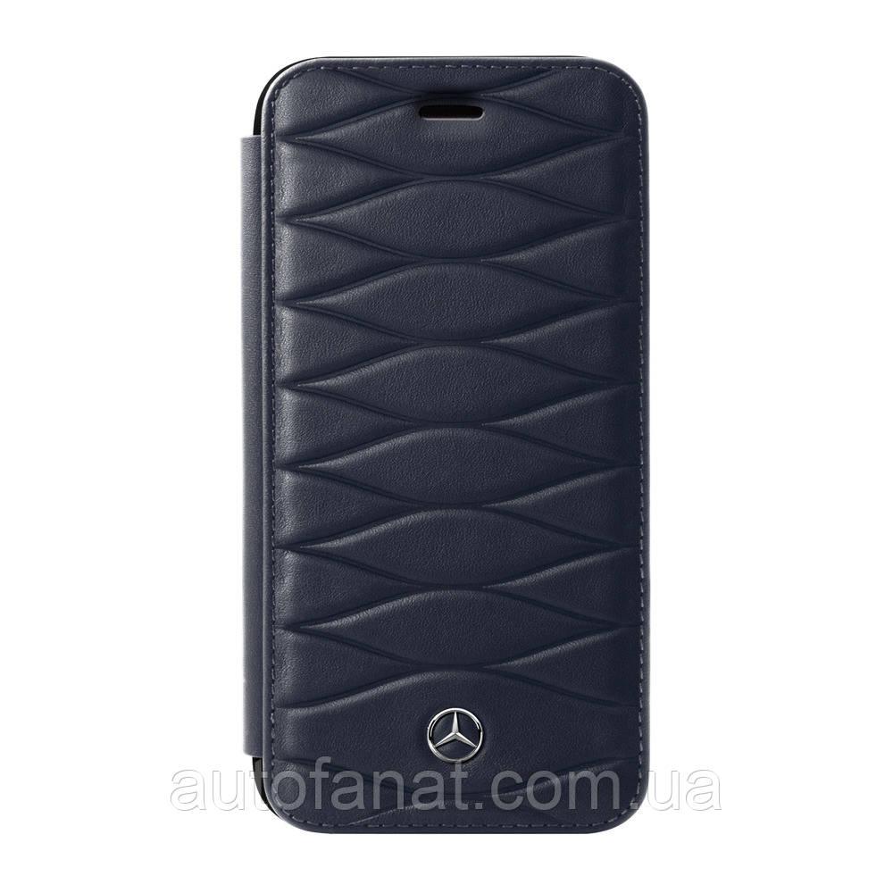 Оригинальный кожаный чехол-книжка для iPhone® 7/8 Plus Mercedes Cover for iPhone® 7/8 Plus, Booktype, Blue