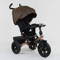 Велосипед трехколесный BEST TRIKE 9500 с поворотным сиденьем и складным рулем, резиновые колеса
