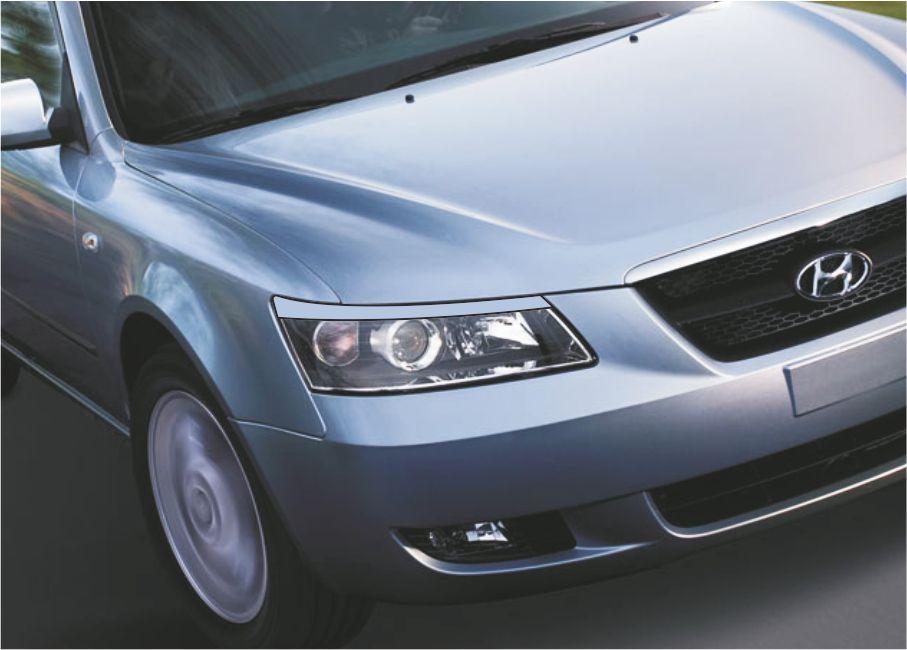 Реснички Hyundai Sonata NF (2005-2010г.в.Spirit)