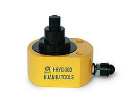 Низкий телескопический гидравлический домкрат - цилиндр HHYG-D 100 тн.