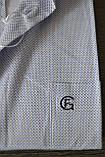 Мужская рубашка с коротким рукавом FERRERO GIZZI (размер 46), фото 3