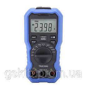 Мультиметр цифровой OW16A (напряжение, ток, сопротивление, ёмкость, частота, температура)