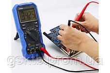Мультиметр цифровой OW16A (напряжение, ток, сопротивление, ёмкость, частота, температура), фото 3