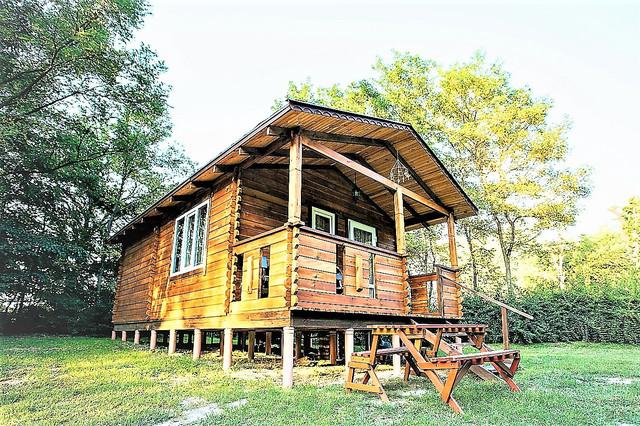 деревянный дом из бруса фото 7