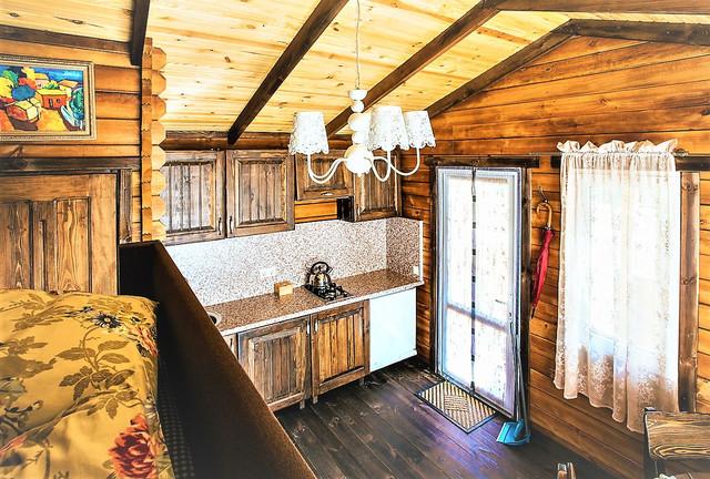деревянный дом из бруса фото 9