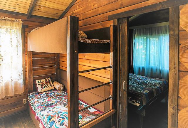 деревянный дом из бруса фото 10