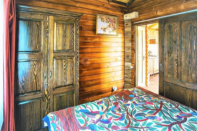 деревянный дом из бруса фото 11
