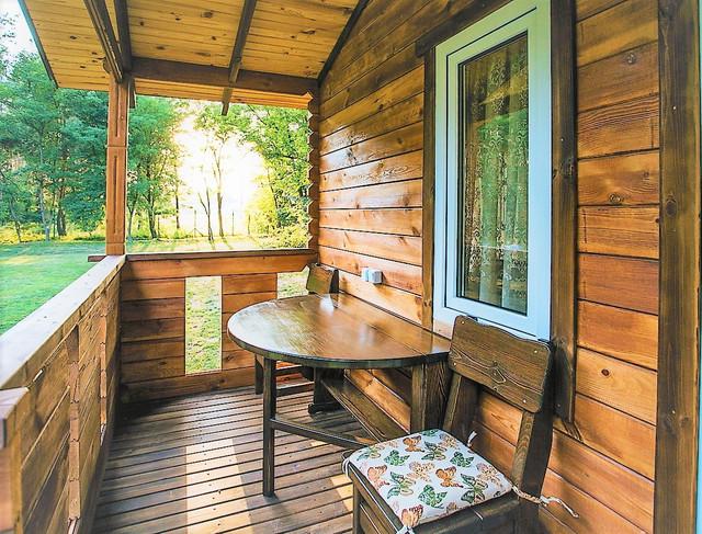 деревянный дом из бруса фото 12