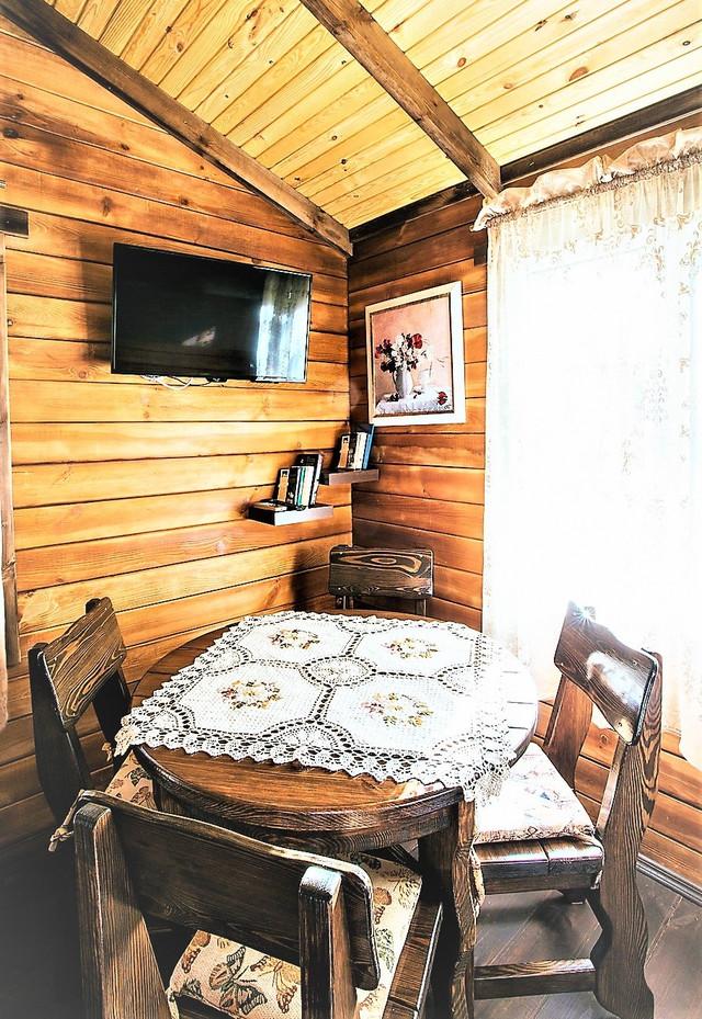 деревянный дом из бруса фото 16