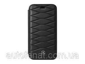 Кожаный чехол-книжка для iPhone® 7/8 Plus Mercedes Cover for iPhone® 7/8 Plus, Booktype, Black
