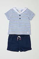 Комплект HM футболка и шортики 6-9 месяцев