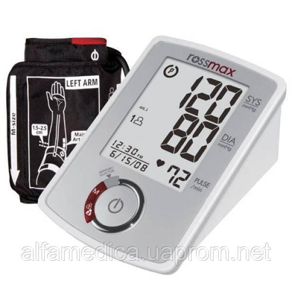 Электронный автоматический тонометр ROSSMAX MB 303 - Альфамедика Alfamedica интернет-магазин медтехники в Днепре