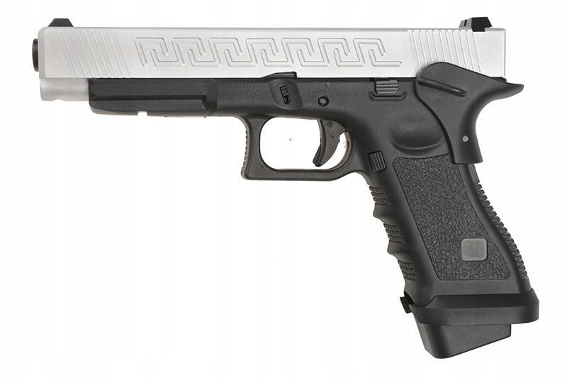 Пістолет Army R34-J GBB Silver