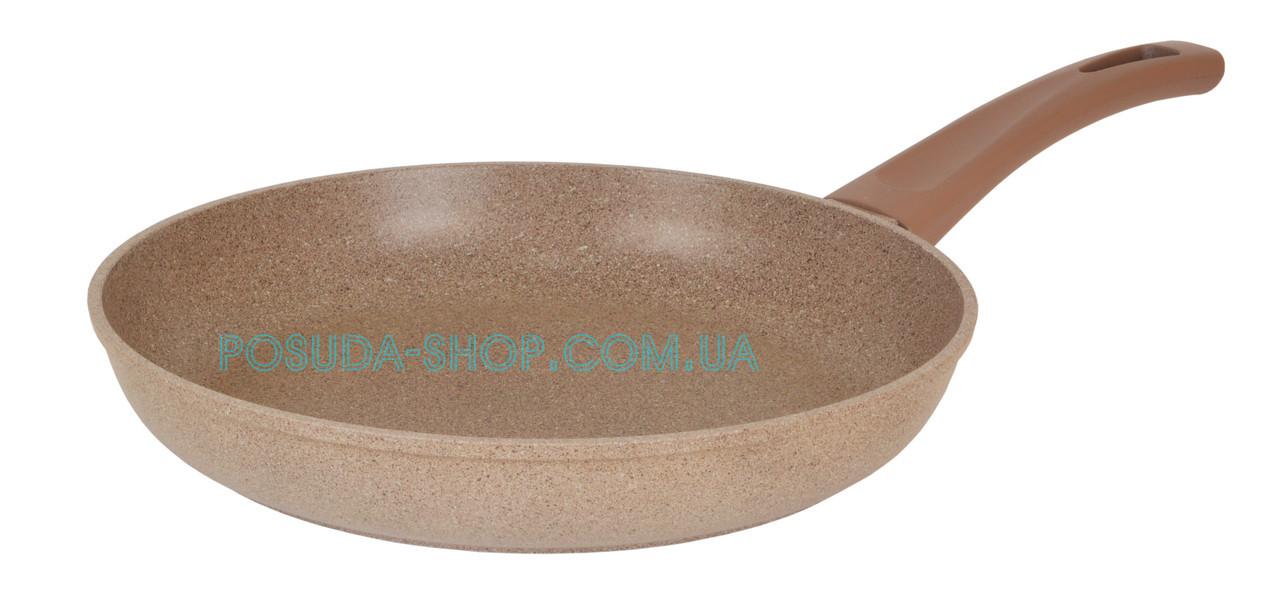 Сковорода с антипригарным покрытием Биол Оптима-Декор 24 см 24047П