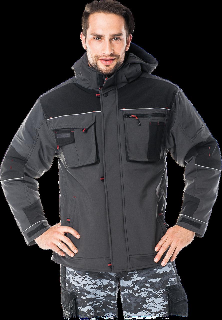 Зимняя куртка LH-STORM утепленная флисом.LEBER HOLLMAN - Германия (утепленная рабочая одежда)