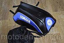 Моторюкзак Yamaha 33х16х48 c дощовиком в комплекті (збільшений обсяг)