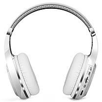 ★Bluetooth гарнитура Bluedio H+ White microSD Радио беспроводная с микрофоном для смартфона и планшета, фото 2