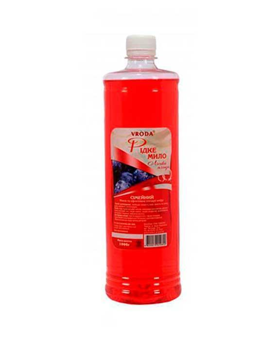 Жидкое мыло для рук Лесная ягода Vroda Семейное Врода, 1 л