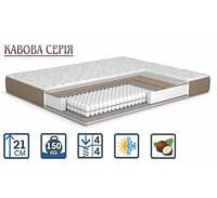 Ортопедический матрас на независимых пружинах Pocket Spring жесткий Кофейная серия ТМ MatroLuxe Капучино