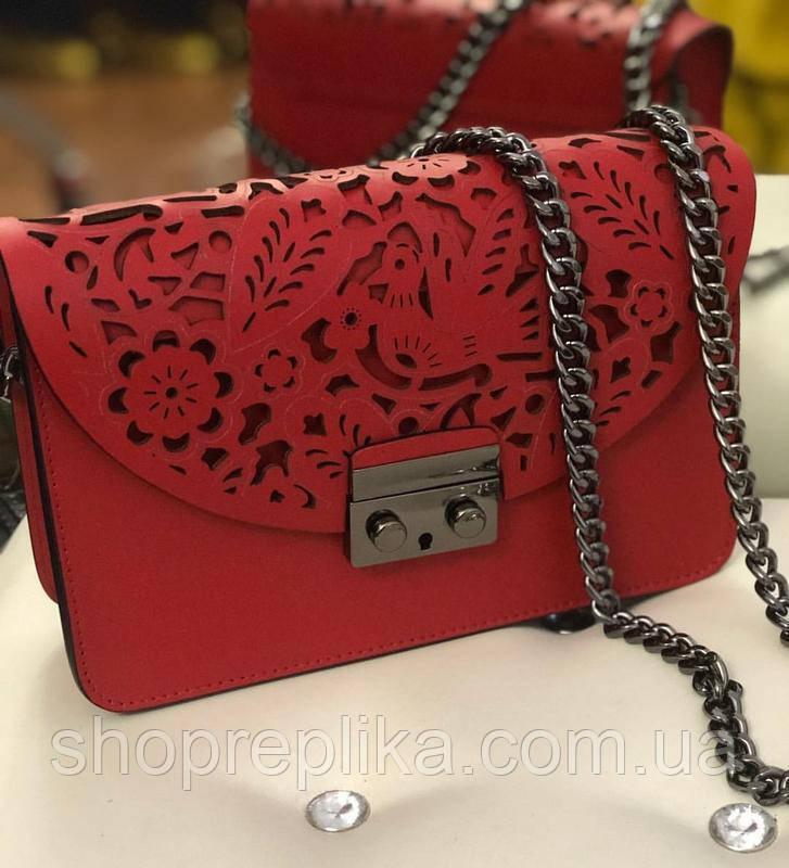 95d08f01569f Купить кожаную итальянскую сумку , Итальянские кожаные сумки в стиле Фурла  Коралловый - Интернет магазин любимых