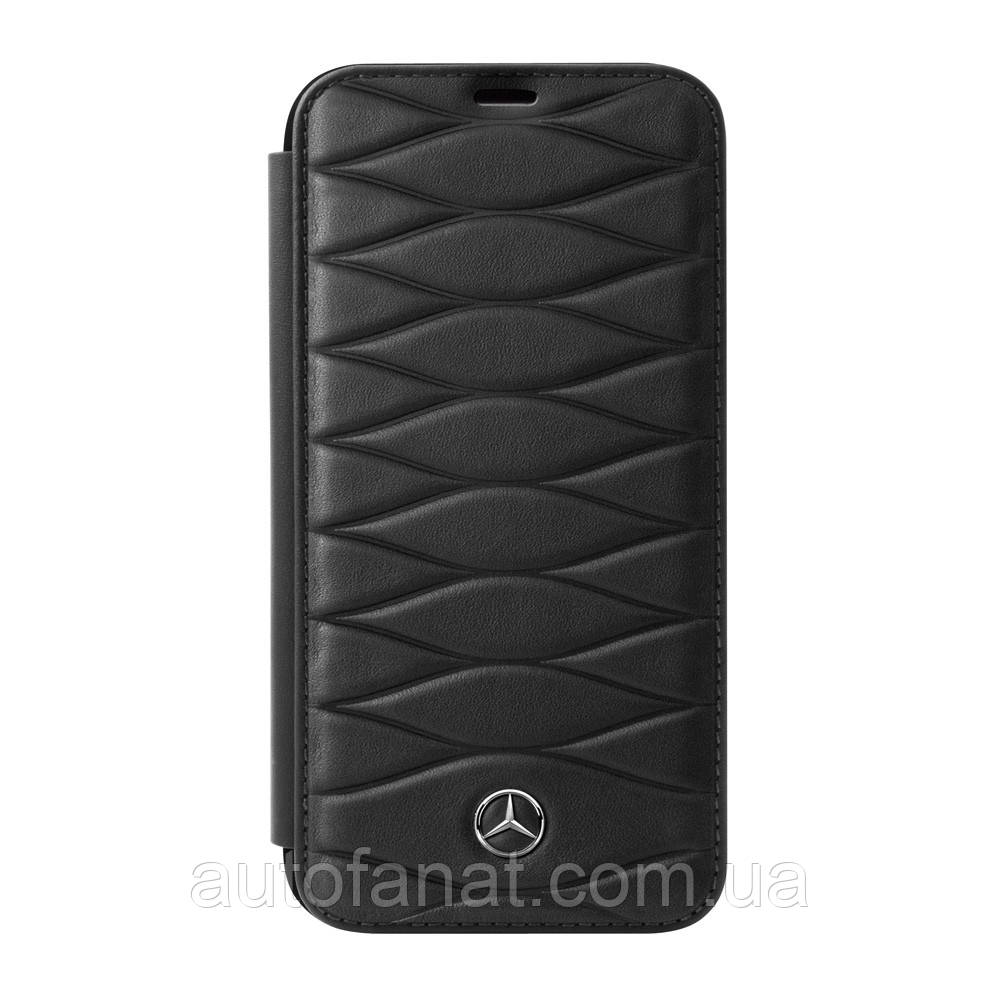 Кожаный чехол-книжка для iPhone® 7/8 Mercedes Cover for iPhone® 7/8, Booktype, Black