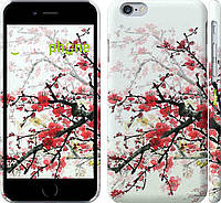 Накладка для iPhone 6/6s пластик Endorphone Квітковий кущ глянцевий (831c-45-308)