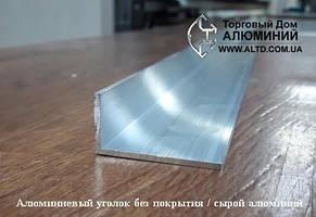 Алюминиевый уголок, анод  40х25х3 мм, фото 2