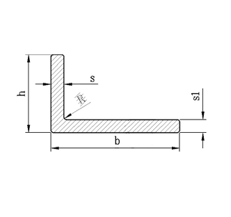 Алюминиевый уголок, без покрытия 80х40х3 мм, фото 2