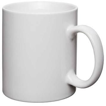 Печать белой чашке