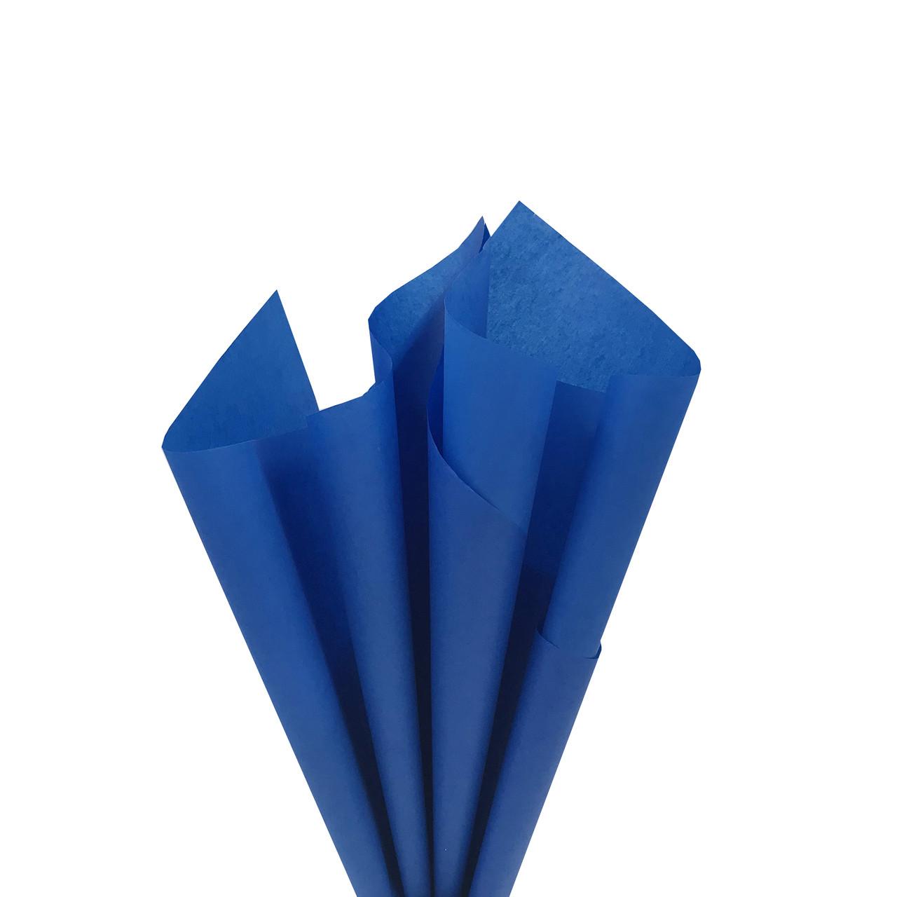 Синяя бумага тишью