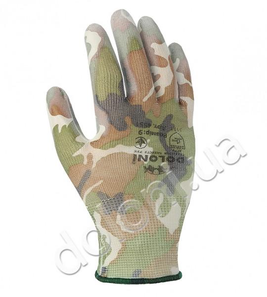 Защитные перчатки с полиуретановым покрытием. DOLONI