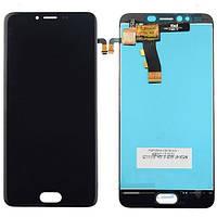 Дисплей для Meizu M5 (M611H)/M5 mini с сенсором, черный